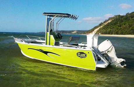 clark aluminium boats in sydney
