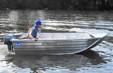 355 predator boat